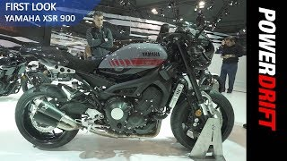 10. 2018 Yamaha XSR900 and XSR900 Abarth : EICMA 2017 : PowerDrift