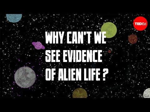 Why can't we see evidence of alien life? - Chris Anderson