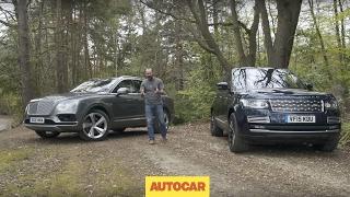 Bentley Bentayga vs Range Rover SVAutobiography | Driven | Blinged SUV shootout | Autocar by Autocar