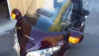 8. 2008 Honda Goldwing GL1800 ABS / Nav / Comfort / Audio quick walkaround - Preowned Motorcycle For S