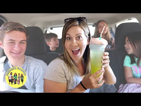 FIND OUT WHAT WE EAT ON THE FIRST DAY OF OUR LARGE FAMILY ROAD TRIP To HIKE THE NARROWS IN UTAH