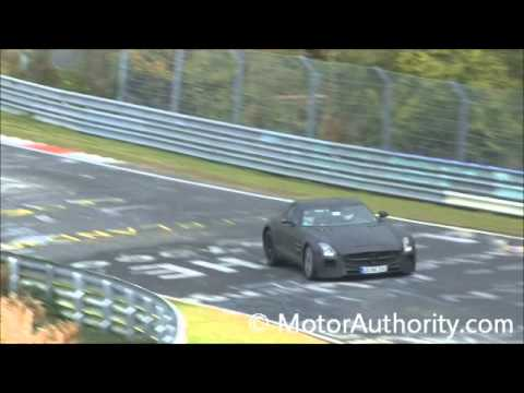 Mercedes-Benz  2014 Mercedes-Benz SLS AMG Black Series Spy Video