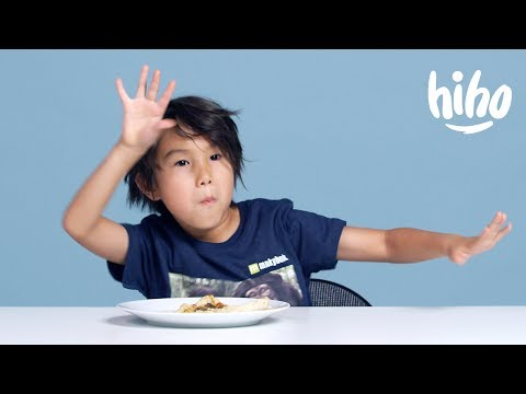 American Kids Try Turkish Food for the First Time