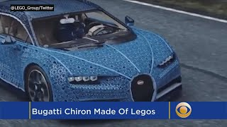 Life-Size Lego Sports Car Has One Million Pieces And Really Works