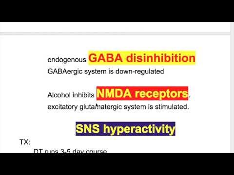 Delirium tremens (Alcohol withdrawal)
