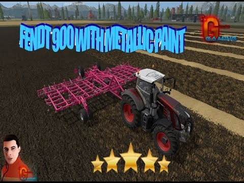 Fendt 900 with metallic paint v1.0