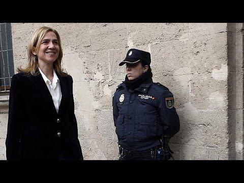 Ισπανία: Ενώπιον της δικαιοσύνης η πριγκίπισσα Κριστίνα