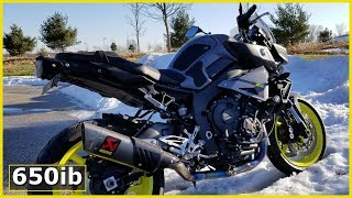 7. Yamaha MT-10   On the STREETS of Cleveland