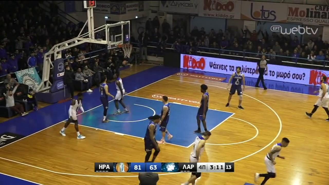 Basket League 2019-2020: ΗΡΑΚΛΗΣ – ΛΑΡΙΣΑ | HIGHLIGHTS | 25/01/2020 | ΕΡΤ