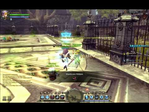 Dragon Nest Manticore Nest Solo lvl 40 Force User
