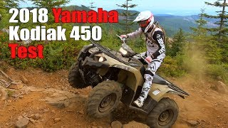 2. 2018 Yamaha Kodiak 450 Test Review