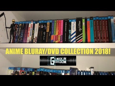 Anime Bluray/DVD Collection 2018!