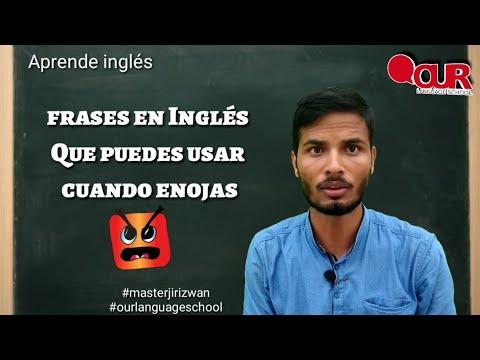 Frases cortas - frases en Inglés Que puedes usar cuando enojas