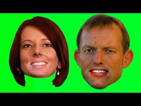 I wanna be Prime Minister - sung by Julia Gillard and Tony Abbott.