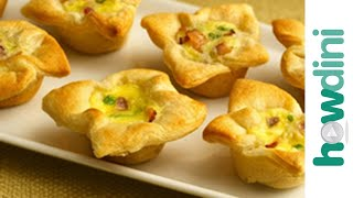Appetizer Recipes: How To Make Onion Tartlet Appetizers