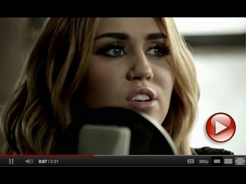 "Miley Cyrus featuring Johnzo West – ""You're Gonna Make Me Lonesome When You Go"""