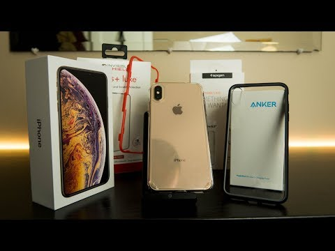 XS Max Essential Accessories to Protect it!!