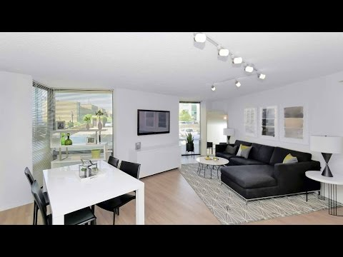 Tour a furnished 2-bedroom model on the Gold Coast / Old Town border