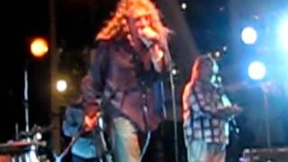Robert Plant and Band Of Joy put on an awesome show at Bayfront Park Miami. Robert picked an amazing line up of musicians to accompany his soulful voice. The harmony is beautiful! Again, sorry it is only a partial clip. Very difficult to film when you are so into the music!