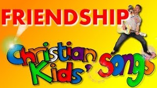 KIDS' SONGS, Christian Kids' Song About Friendship, With Lyrics On Screen.