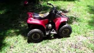 9. Push start without battery 50cc ATV