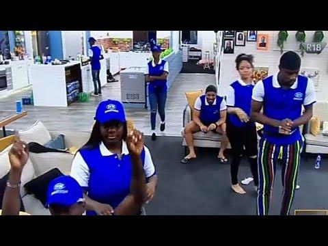 BBNaija Innoson Task || Housemates Dancing during Task