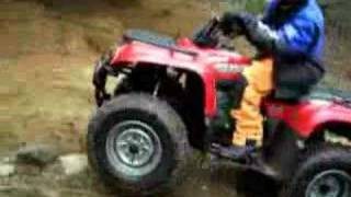 4. 2006 Yamaha Big Bear 400 4x4 ATV 4 Wheel Drive Show-off