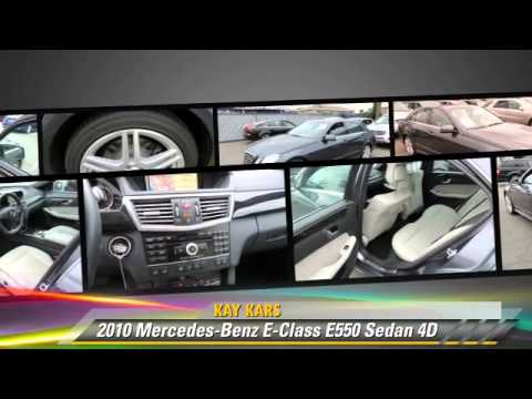 2010 Mercedes-Benz E-Class E550 - Kay Kars, Los Angeles