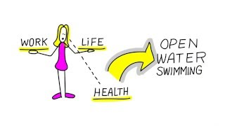 Sketch Note with Lisa Williams - Open Water Swimmer who Swam the English Channel!
