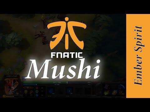 Fnatic Mushi - Ember Spirit in a 7k MMR - Dota 2