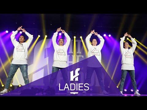 LADIES   Finalist - Hit The Floor Lévis #HTF2016