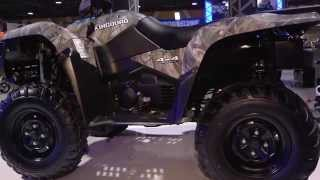 7. Suzuki KingQuad 500 at the 2014-2015 Progressive International Motorcycle Show Tour