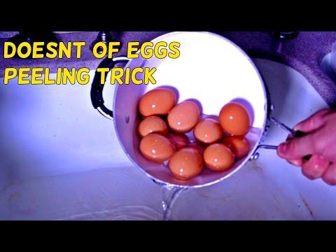 神奇!來看看他是如何以最快的速度剝完一籮筐的雞蛋!