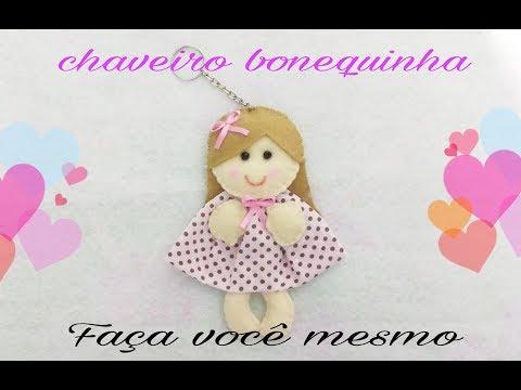 Boneca Chaveiro