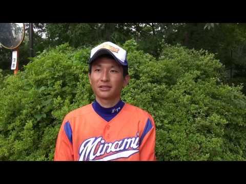 埼玉県川口市立南中学校 中学校野球チーム 細谷監督へのインタビュー