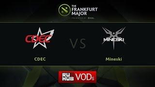 CDEC vs Mineski, game 1