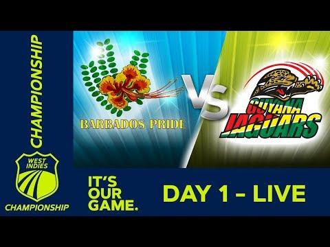 Barbados v Guyana  - Day 1 | West Indies Championship | Thursday 28th February 2019 - Thời lượng: 6 giờ.