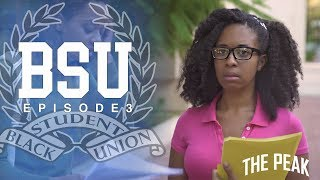 Episode 3: The B.S.U. prepares for their first big event, a fundraiser party, but Manny is distracted with the launch of his new app. Romie gets close with the suave new member, Felix, while Andre gets a surprise from home!About BSU:BSU (Black Student Union) is a comedic coming of age web series following a group of college students who are navigating the pitfalls of teenage self discovery, while simultaneously balancing the expectations to organize on behalf of current and future black students.