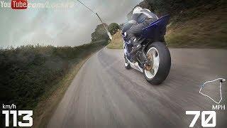 ️Skerries Road Races, Dublin, Ireland. #96 Andy Farrell, 600cc, ZX6R Intermediate Tyres. #38 Steven Procter, R6...