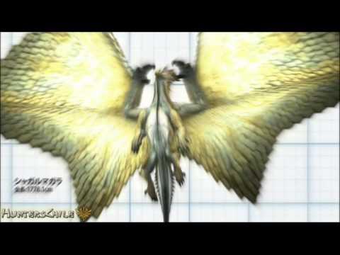 10th - Video de comparación de monstruos del evento del décimo aniversario de Monster Hunter. HuntersChile.