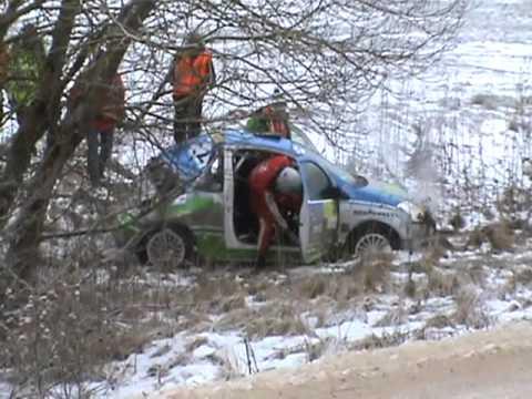 ERC Rally Liepāja - Ventspils: dzwon Ogryzka