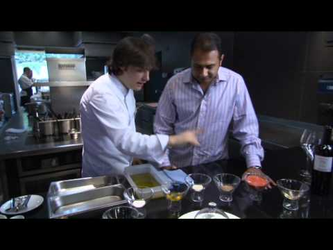 Inside Luxury Channel - Varum Sharma and Jordi Cruz at ABaC Restaurant & Hotel in Barcelona – Junio 2011
