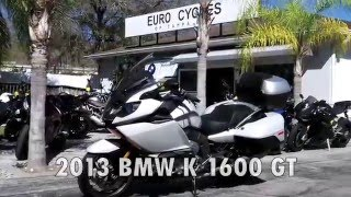 9. Pre-Owned 2013 BMW K 1600 GT Light Grey Metallic at Euro Cycles of Tampa Bay