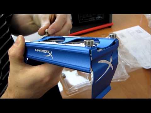 Kingston HyperX Blue LED Aluminum Dual 60mm RAM Fan Unboxing & First Look Linus Tech Tips