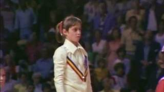 Nadia Comaneci reflects on the day she won the Olympic gold medal in the all around competition at the 1976 Olympic Games.