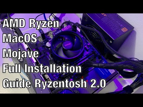 AMD Ryzen MacOS Mojave Full Installation Guide Part 2 (Ryzentosh 2.0)
