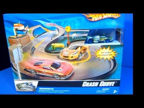 Hot Wheels Crash Curve Play Set Product Review