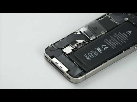 Phone Doctors Tech Tip   iPhone 4   4S Battery Replacement   YouTube