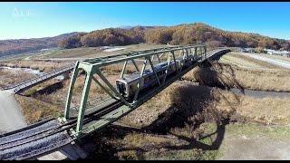 空撮 / 八ヶ岳高原鉄道 小海線