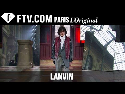 fashiontv - http://www.FashionTV.com/live PARIS - See the latest menswear from Lanvin on the runway at Paris Men's Fashion Week Fall/Winter 2015-16. For franchising opportunities with FashionTV, CONTACT...